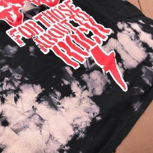 Shirts - Men's AC / DC Toe Dye Shirt